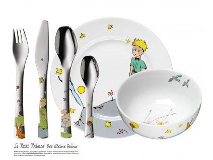 Detská jedálenská súprava 6-dielna Malý princ