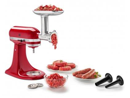 Kovový mlynček na potraviny KitchenAid 5KSMMGA