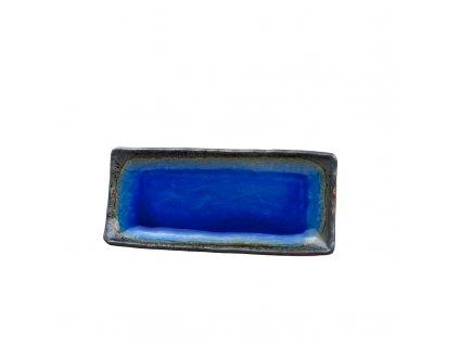 Tanier na sashimi Cobalt Blue 29 x 12 cm