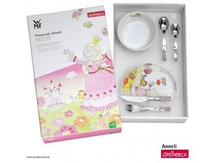 Detský jedálny set Anneli WMF 6 ks