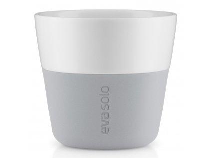 Termohrnčeky na kávu Lungo 230 ml 2 kusy svetlosivé Eva Solo