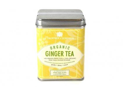 Organický zázvorový čaj Chopra Harney & Sons 20 ks