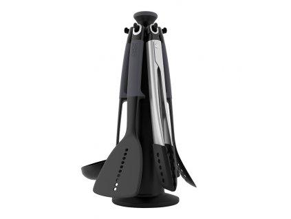 Rotačný stojan s náčiním čierny Elevate™
