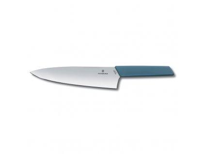 Kuchársky nôž Victorinox Swiss Modern 20 cm modrý