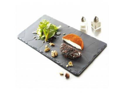 Tanier obdĺžnikový Basalt 30 x 16 cm REVOL