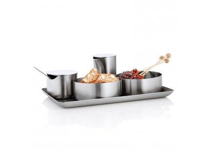 Podnos z nehrdzavejúcej ocele 15 x 25 cm BASIC