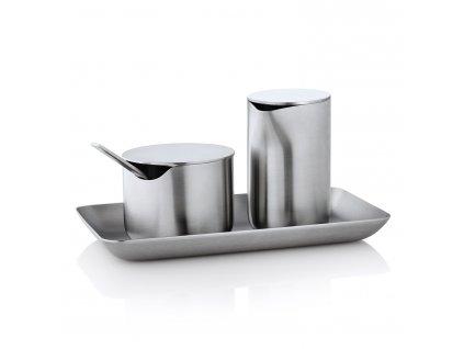 Kanvička na mlieko/smotanu s viečkom z nehrdzavejúcej ocele 120 ml BASIC Blomus