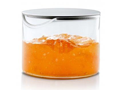 Dóza na marmeládu s viečkom z nehrdzavejúcej ocele BASIC