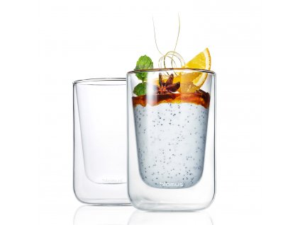Súprava termopohárov na cappuccino 250 ml NERO Blomus