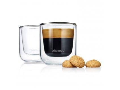 Súprava termopohárov na espresso 80 ml NERO Blomus