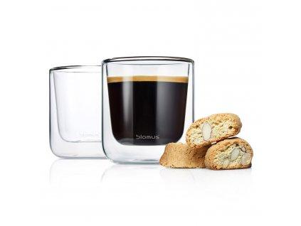 Súprava termopohárov na kávu 200 ml NERO Blomus