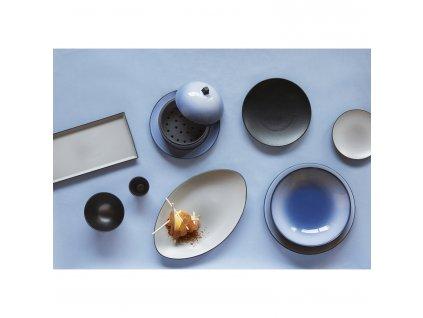 Tanier na hlavný chod Ø 28 cm nebeská modrá Equinoxe