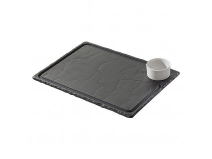 Steakový tanier 33 x 24 cm Basalt