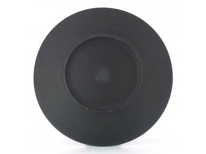 Tanier na hlavný chod/servírovací Ø 31,5 cm matná čierna Equinoxe