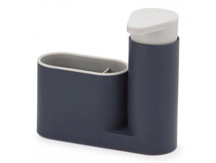 Stojanček s dávkovačom mydla sivý SinkBase™