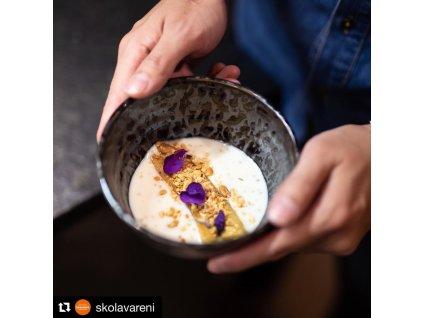 Stredná miska Black Pearl 16 cm 500 ml