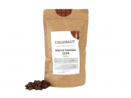 Mliečna čokoláda Callebaut 33,6% 250 g