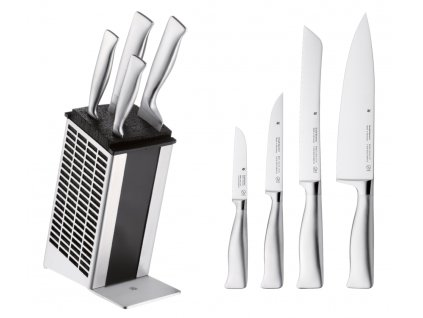 Sada nožov v bloku Grand Gourmet WMF 4 ks
