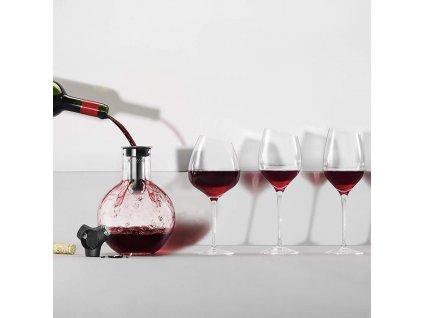 Dekantovacia karafa na víno 0,75 l