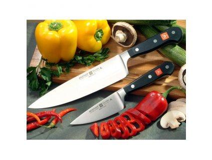 Kuchársky nôž 20 cm so širokou čepeľou Classic