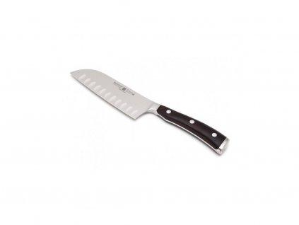 Nôž Santoku s výbrusom 14 cm Ikon WÜSTHOF