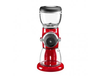 Mlynček na kávu Artisan kráľovská červená