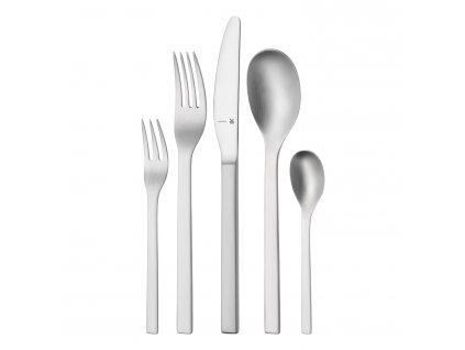 Príbor Linum Cromargan protect® s monoblok nožmi: súprava 30 kusov