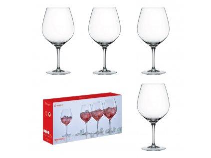 Akciová súprava 4 pohárov na víno Wine On Ice