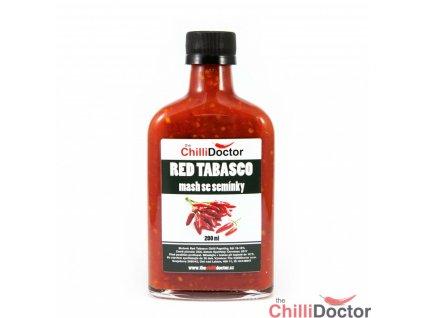 Red Tabasco mash se semínky 200 mla