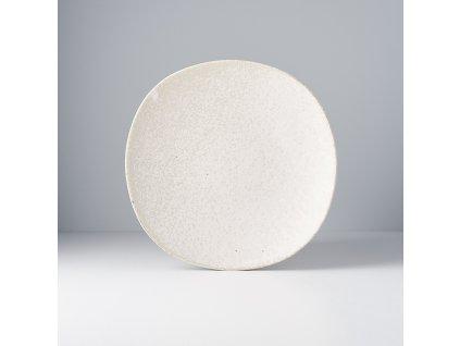 Plytký tanier Fade béžový 24,5 cm MIJ