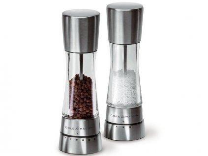 Set mlynčekov na korenie/ soľ Cole & Mason Derwent 190 mm