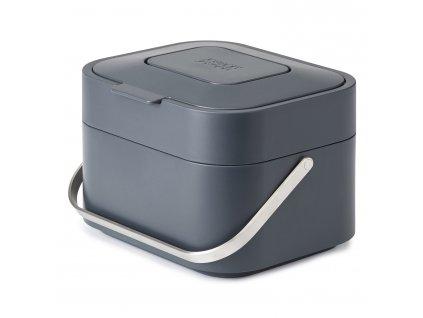 Nádoba na kompostovateľný odpad Stack 4 grafitová sivá