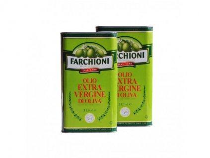Extra panenský olivový olej Farchioni 2 x 3 l