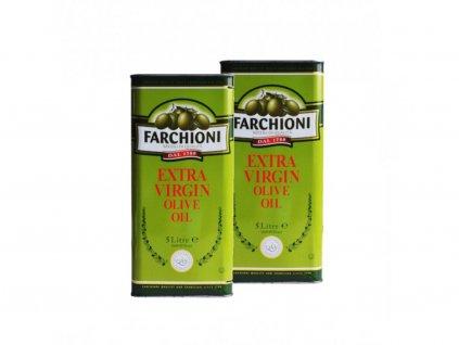 Extra panenský olivový olej Farchioni 2 x 5l