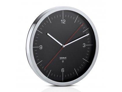 Nástenné hodiny CRONO čierne Ø 30,5 cm