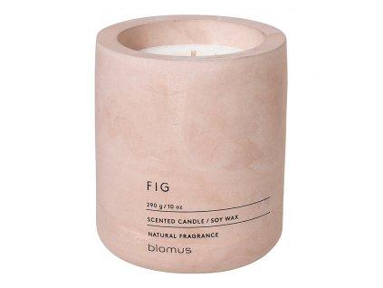 Vonná sviečka zo sójového vosku FRAGA svetloružová Ø 9 cm Blomus