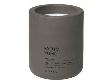 Vonná sviečka zo sójového vosku FRAGA tmavohnedá Ø 9 cm Blomus