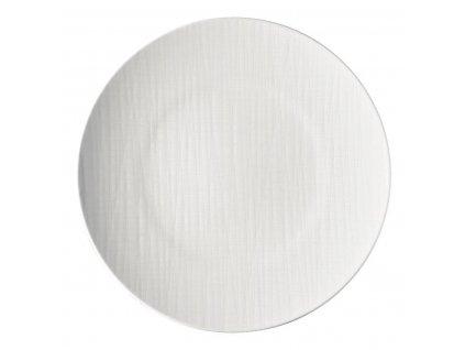 Plytký tanier Mesh Rosenthal biely 33 cm