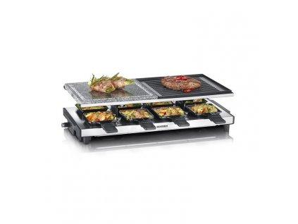 Raclette gril RG 2373 Severin nerez 1500 W