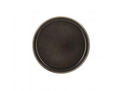 Plytký tanier Bitz šedý 21 cm