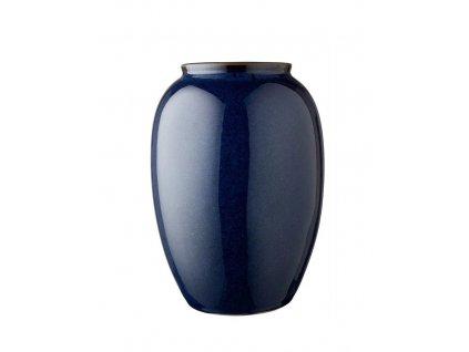 Váza Bitz modrá 50 cm