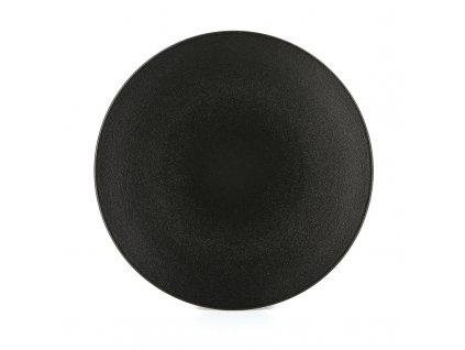 Plytký tanier Equinoxe Revol čierny 24 cm