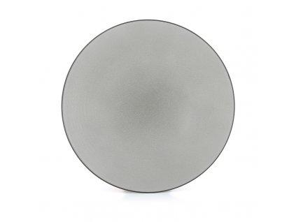 Plytký tanier Equinoxe Revol šedý 24 cm