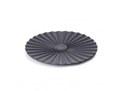 Podšálka pre misku na čaj Pekoe Revol čierny 14 cm