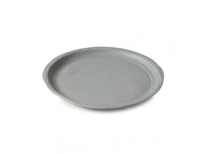 Plytký tanier No.W Revol šedý matný 21 cm