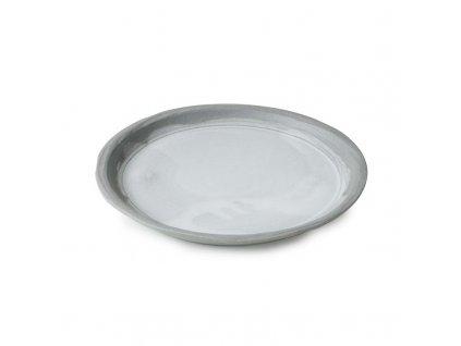 Plytký tanier No.W Revol šedý glazovaný 21 cm