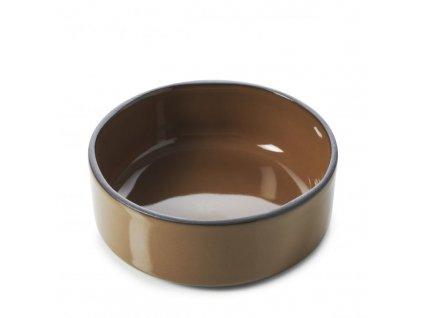 Miska Caractere Revol čokoládová 8 cm