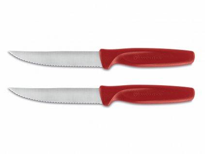 Sada steakových nožov Create Wüsthof červené 2 ks