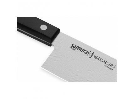 Nôž Nakiri HARAKIRI Samura čierny 17 cm