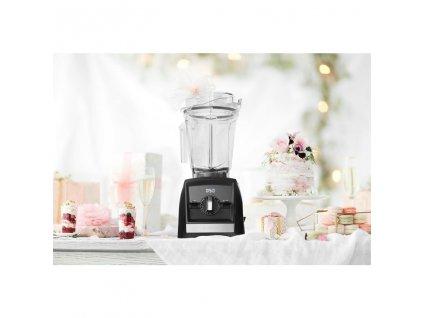 Stolný mixér A2500 Ascent Vitamix čierny